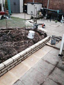 Extending a Garden Wall with Ed's Garden Maintenance