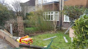 A Fencing Job in desperate need of repairs