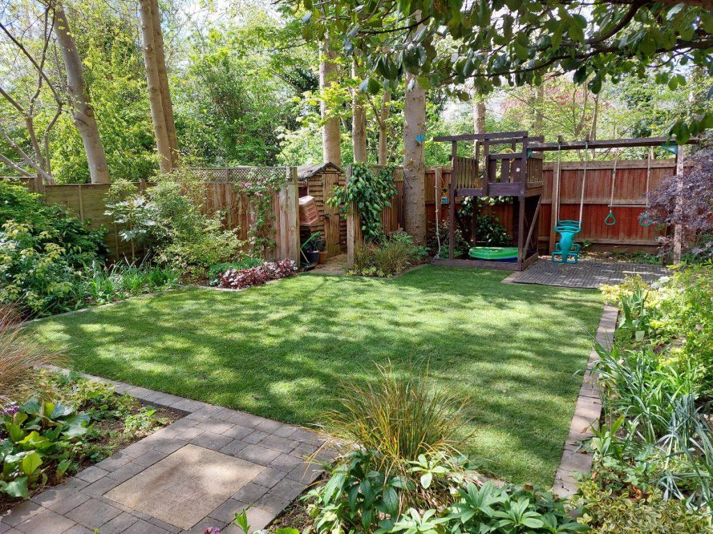 Ali's shady garden retreat